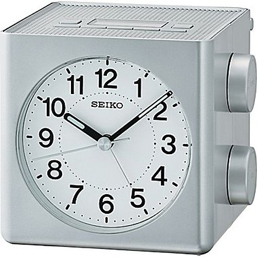 Alarm Clock Seiko QHE149S 10 X 10,9 X 11 cm