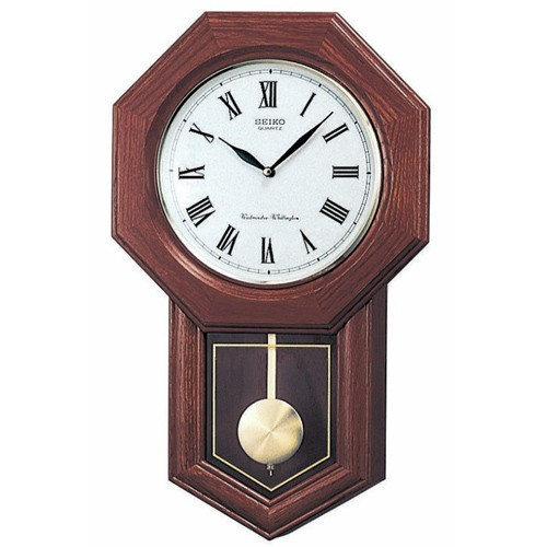 Reloj de Pared Seiko QXH102B Pendulo 54 X 33 X 9.5mm