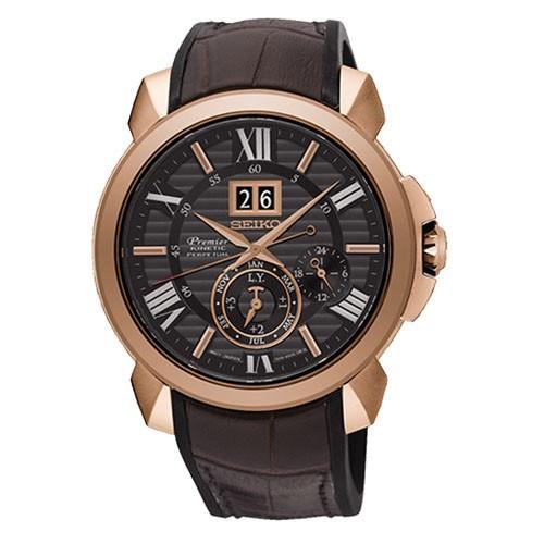 Seiko Watch Premier SNP146P1 Kinetic Perpetuo