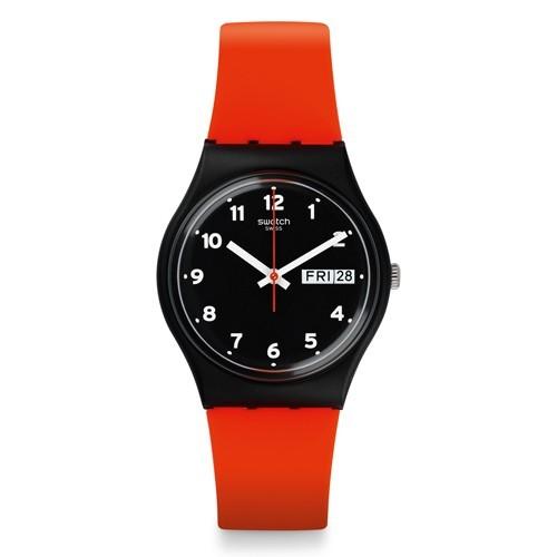 Watch Swatch Originals GB754 Red Grin