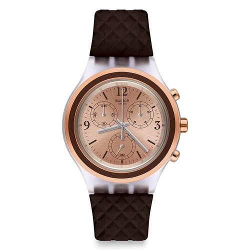 Reloj Swatch Irony SVCK1005 Elebrown