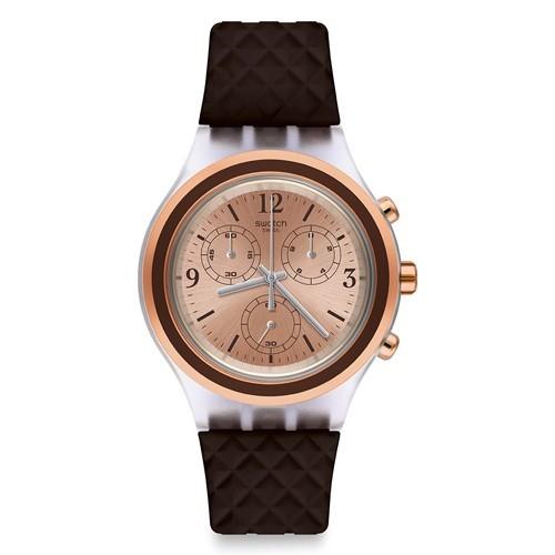 Watch Swatch Irony SVCK1005 Elebrown