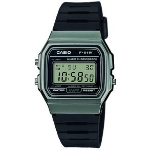 Casio Watch Collection F-91WM-1BEF