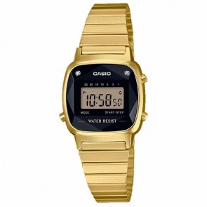 Casio Watch Collection LA670WEGD-1EF Diamond Vintage