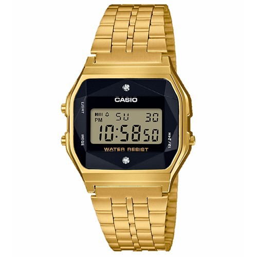 Casio Watch Collection A159WGED-1EF Diamond Vintage