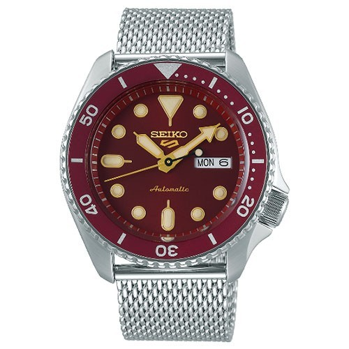 Seiko 5 Watch SRPD69K1 Suits Style