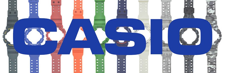 Casio Spare Parts - Buy your strap, spheres or accesories Casio watch