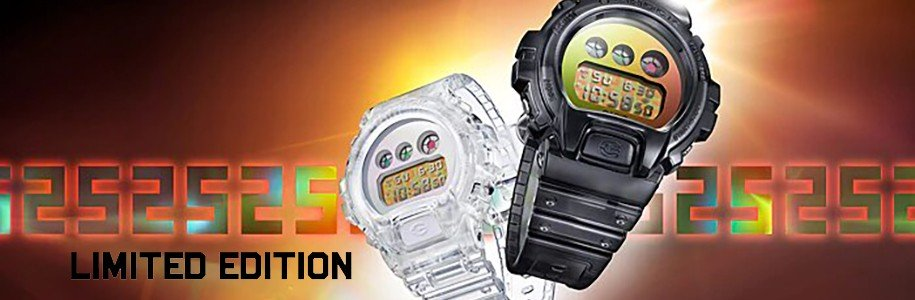 Montres Casio Limited Edition - Nouveaut Limited Edition Relojesdemoda
