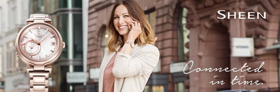 Casio Sheen women´s buy watches - Online novelties in Sheen watches