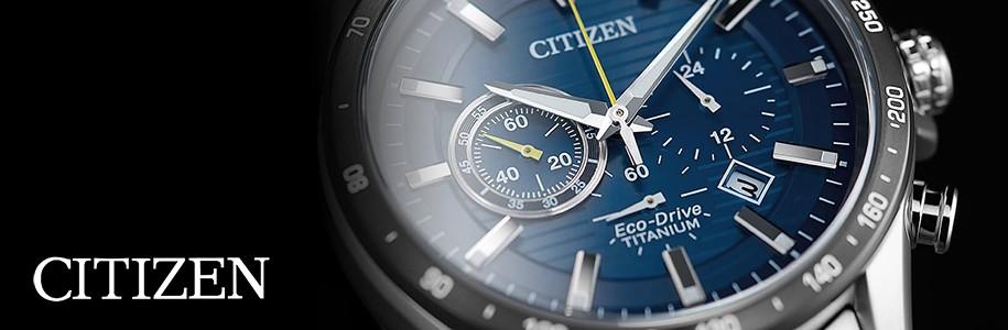 Compre relógios Citizen Eco Drive Titanium | Novidades online Citizen